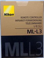 Nikon ML-L3 IR Remote for D40 D50 D70 D80 D90 D5000 D5100 D3200 D3000 Genuine