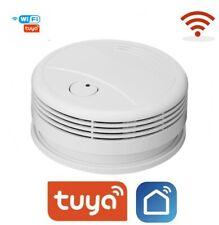 Smoke Detector WIFI - Smart Life : Tuya APP Wireless with Duracell Battery