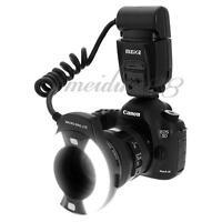 Meike MK-14-EXT E-TTL Macro Ring Flash AF Assist Lamp For Canon 70D 80D US !