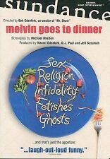 Melvin Goes to Dinner (DVD 2003) * i combine shipping * NM CONDITION SEXY COMEDY