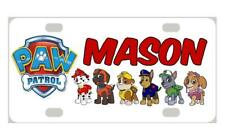 PAW PATROL MINI LICENSE PLATE Personalized Kids Any Name for Bicycles Door Sign