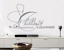 Wandtattoo Chillout Lounge Entspannung Wandaufkleber Wohnzimmer Flur uss524