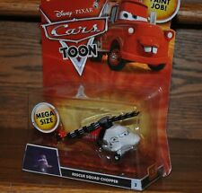 Disney Pixar Cars Mega size Die Cast Toon Rescue Squad Chopper #3 Helicopter NEW