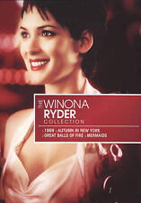 Winona Ryder Star Collection (DVD, 2009, 4-Disc Set) 1969/GREAT BALLS OF FIRE
