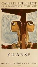Antonio Guansé affiche litho 1965 galerie Suillerot Espagne France p 555