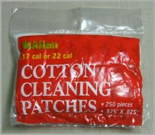 "Allen 7074 Cotton Rifle Cleaning Patches .875"" X .875"" (250 Patches)"