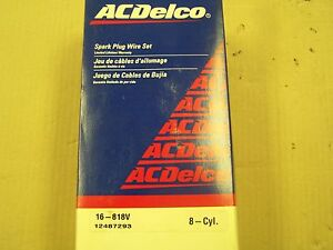 ACDelco 16-818V Ignition Wire Set made in USA fits Lincoln Continental