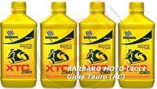 4 LT. OLIO motore moto BARDAHL XTC C60 10W40 Sintetico IDEALE PER CAMBIO MORBIDO