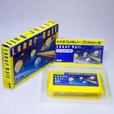 Lunar Ball Famicom Nintendo FC Japan Import PinBall NES NTSC-J lok somewhat used
