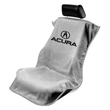 NEW GRAY Universal Seat Armour Acura Logo Front Seat Cover Towel Integra TL TSX