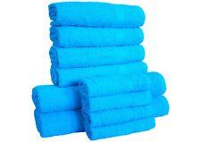 LUXURY 10 PIECE TOWELS BALE SET 100% PURE EGYPTIAN COTTON FACE,HAND & BATH TOWEL
