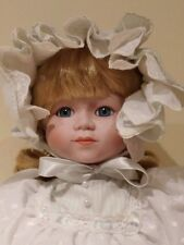 SEYMORE MANN CONNOISSEUR COLLECTION DOLL-15 1/4' PORCELAIN DOLL-WITH STAND