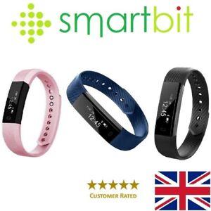 Genuine SMARTBIT Fitness Tracker Step Pedometer Bluetooth Smart Watch Fitbit
