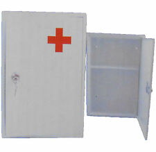 Wall Mounted in Acciaio Inox Bloccabile Medical 1st aiuti MOBILETTO Scaffale di Stoccaggio Casella