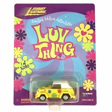 Johnny Lightning Luv Thing Volkswagen VW Type 181 Car Yellow Die Cast 1/64 Scale