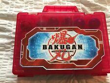 BAKUGAN BATTLE BRAWLERS SET W MAGNETIC CARDS & CASE 40 PCS