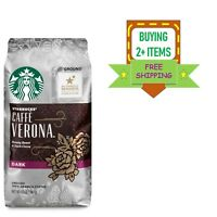 Starbucks Caffe Verona Dark Roast Ground Coffee, 12-Ounce Bag