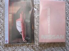 1991 NISSAN SENTRA NX COUPE OWNERS MANUAL
