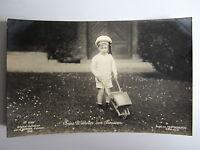 Adel Monarchie Prinz Wilhelm Schubkarre altes Spielzeug alte Postkarte um 1910