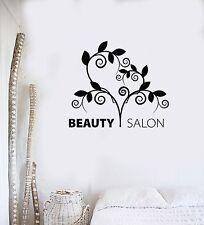 Vinyl Decal Beauty Salon Patterns Spa Hair Stylist Wall Stickers Mural (ig3426)