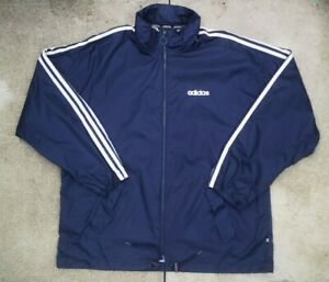 Authentic 90s adidas Hooded Windbreaker. Ideal Large.