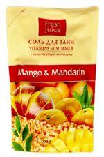 Bath SALT Mango & Mandarin with Vitamin Complex doypack 200g Fresh Juice 6410