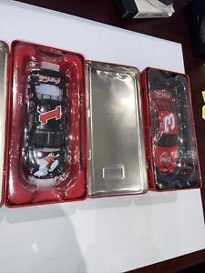 Lot of 2 Dale Earnhardt Sr Dale Earnhardt Jr Coca Cola 1/32 Car Vending Machine