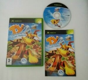 ORIGINAL XBOX GAME TY THE TASMANIAN TIGER 2 BUSH RESCUE +BOX INST'S COMPLETE PAL
