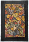Mid Century Abstract Modernist Painting,  Manner of Sol LeWitt