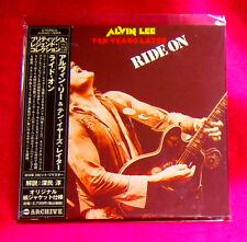 Alvin Lee Ride On MINI LP CD JAPAN AIRAC-1599