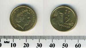 Australia 2000 - 2 Dollars Coin - Aboriginal Elder - Queen Elizabeth II