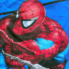SPIDERMAN 2 Pc Set Full Flat Sheet Std Pillowcase Marvel Comic Superhero Spidey