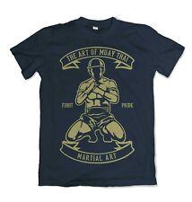 Tailandés Muay Camiseta Arte Marciales Lucha UFC Boxeo Mma Artes Mixtas estilo S-3XL