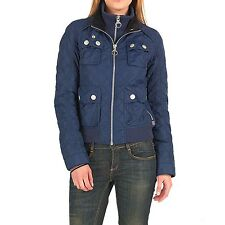 Superdry Ladies Quilted Bomber Jacket - Size S - NEW