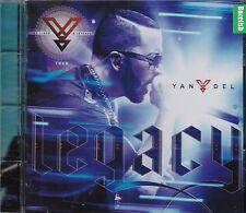 Yandel Deluxe Legacy de Lider a Leyenda Tour CD New Nuevo Ex Wisin y Yandel