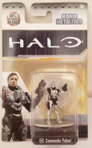 Halo Nano Metalfigs DieCast Metal Figure Figurine Commander Palmer MS4