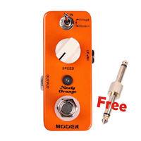 New Mooer Ninety Orange Analog Phaser Micro Guitar Effects Pedal!!