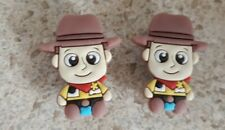 Lot of 2 Disney Woody shoe charms for Crocs shoes. Other uses Craft, Scrapbook