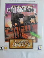 Star Wars: Force Commander -- LucasArts Archive Series (PC, 2001)