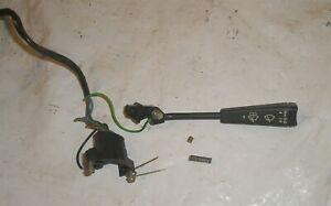 1982 Delorean DMC 12 OEM Windshield Wiper Switch Lever