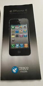 Old Stock Apple iPhone 4 4th Generation Network Tariff Leaflet - 2010 RARE