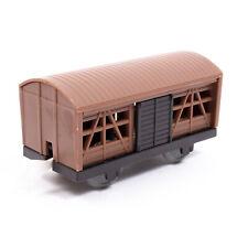 Tomy Thomas & Friends Trackmaster Cattle Wagon - Light Brown + Dark Brown Doors