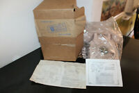 VINTAGE ITT ROTARY PHONE WITH INSTALLATION INSTRUCTIONS BEIGE IN BOX  NEW  !!!!