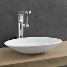 neu.haus Waschbecken oval Waschschale 50x35,5cm Keramik Waschtisch Aufsatzbecken
