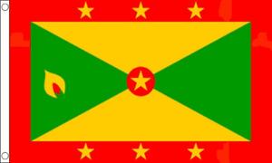 Grenada spice island large flag 5ft x 3ft