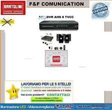 VIDEOREGISTRATORE DVR 8 CANALI AHD TVCC SMARTPHONE ISP SORVEGLIANZA TELECAMERE 1