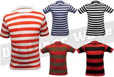 Markenlose gestreifte T-Shirts für Jungen