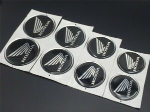 Motorcycle Wing Emblem Decal For Honda Tank Fairing Shield Badge Soft Stickers