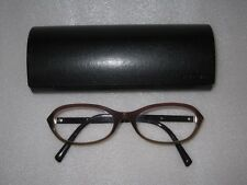 PRADA EAE-1O1 Brille Rot Braun glasses lunettes FASSUNG