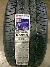 2 New 255 40 17 BFGoodrich g-Force Super Sport A/S Tires